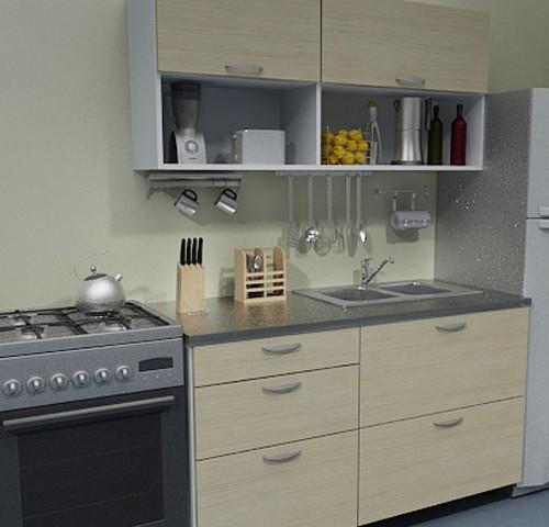 ALFA, mueble de cocina