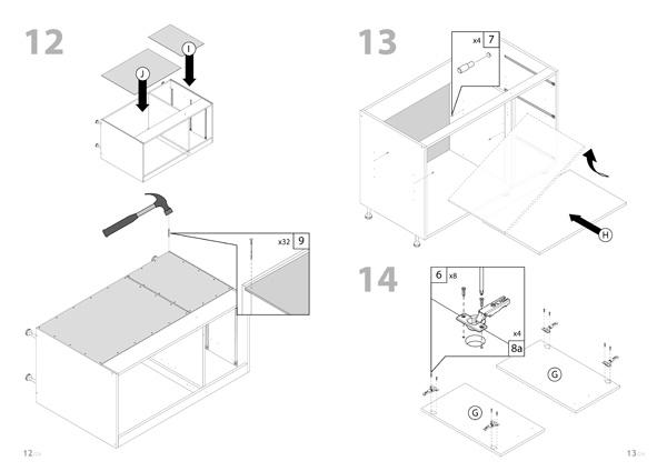 mueble RTA - easy - Linea Beta