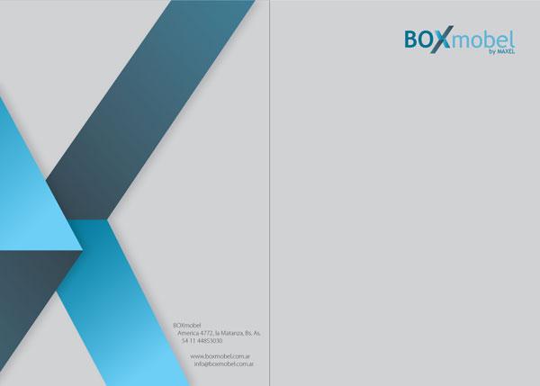 diseño gráfico - marca - boxmobel