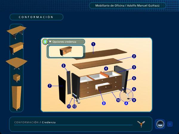 muebles de oficina Q -2724